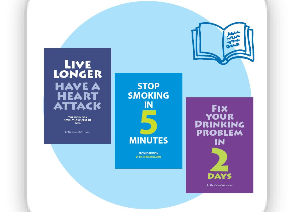 Three for two on Weight loss, Stop Smoking In 5 Minutes and Fix Your Drinking Book Bundle