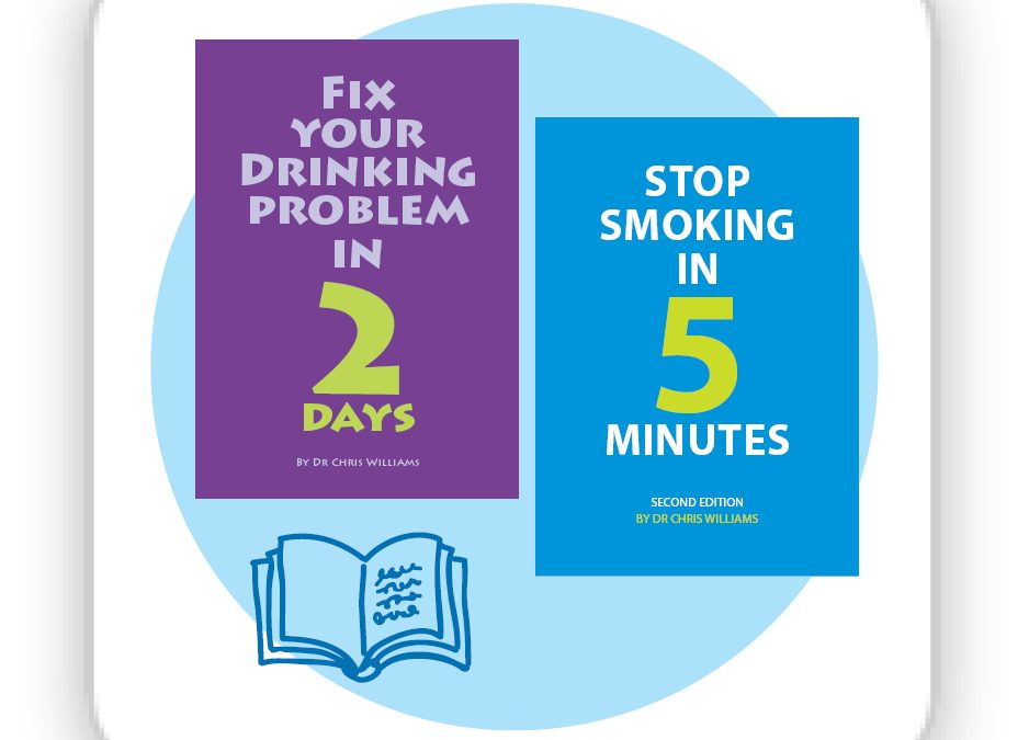 Stop Smoking In 5 Minutes and Fix Your Drinking Book Pair