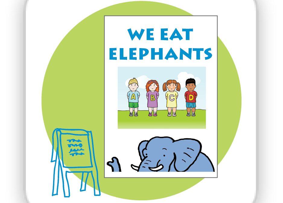 Arrange Training for We Eat Elephants
