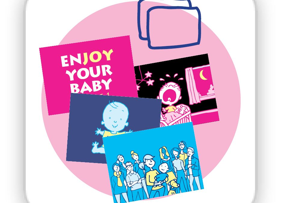 Cards –  cards for the Enjoy Your Baby Course